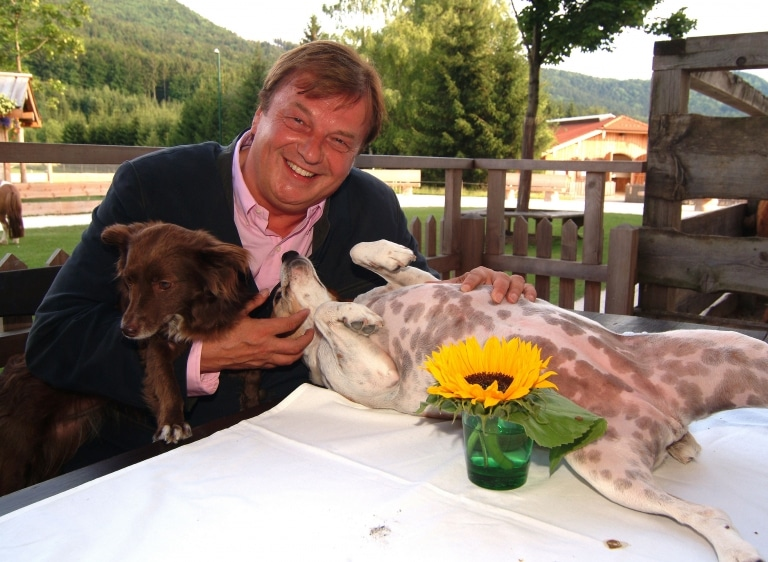 Michael Aufhauser liebt Hunde