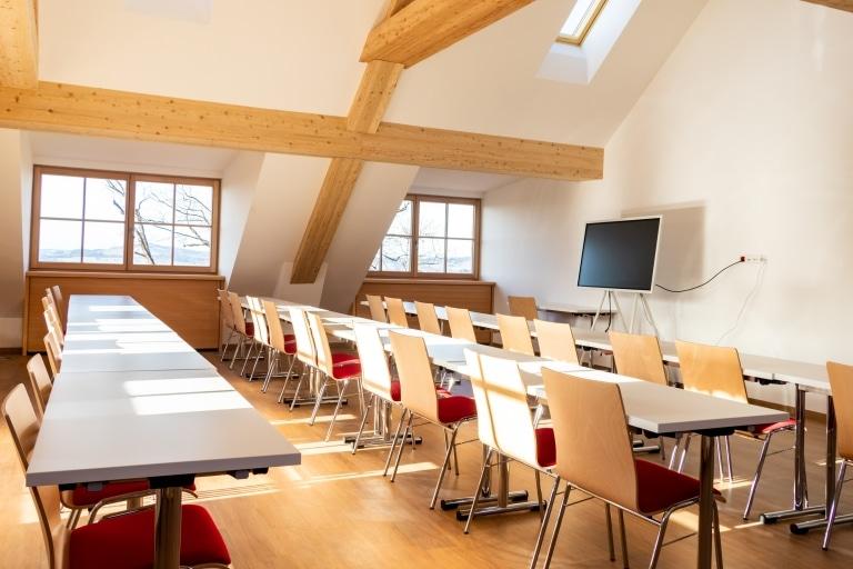 Seminarraum auf Gut Aiderbichl