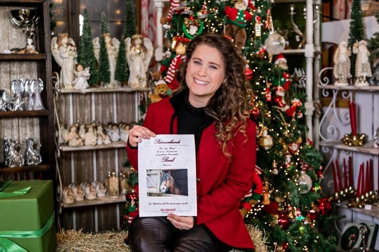 Anja Wendzel empfiehlt eine Geschenkpatenschaft