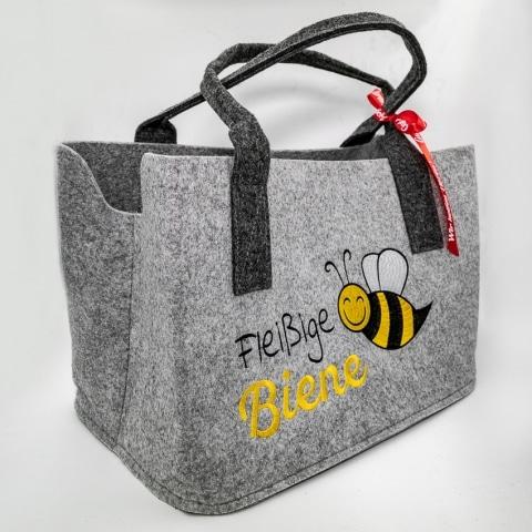 """Gut Aiderbichl Filztasche """"Fleißige Biene"""""""
