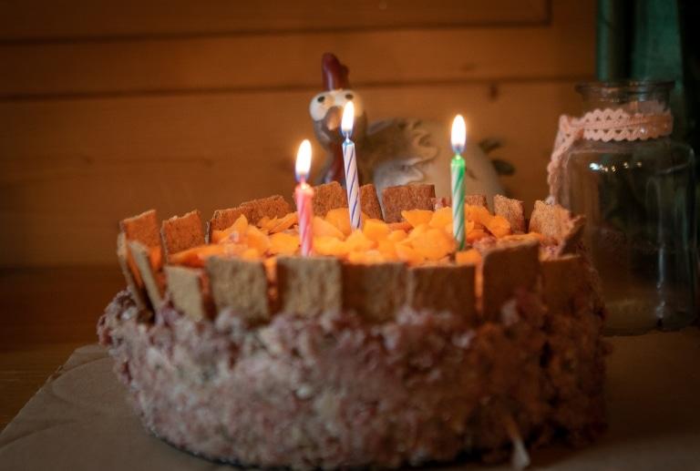 Geburtstagskuchen von Mr. Grey