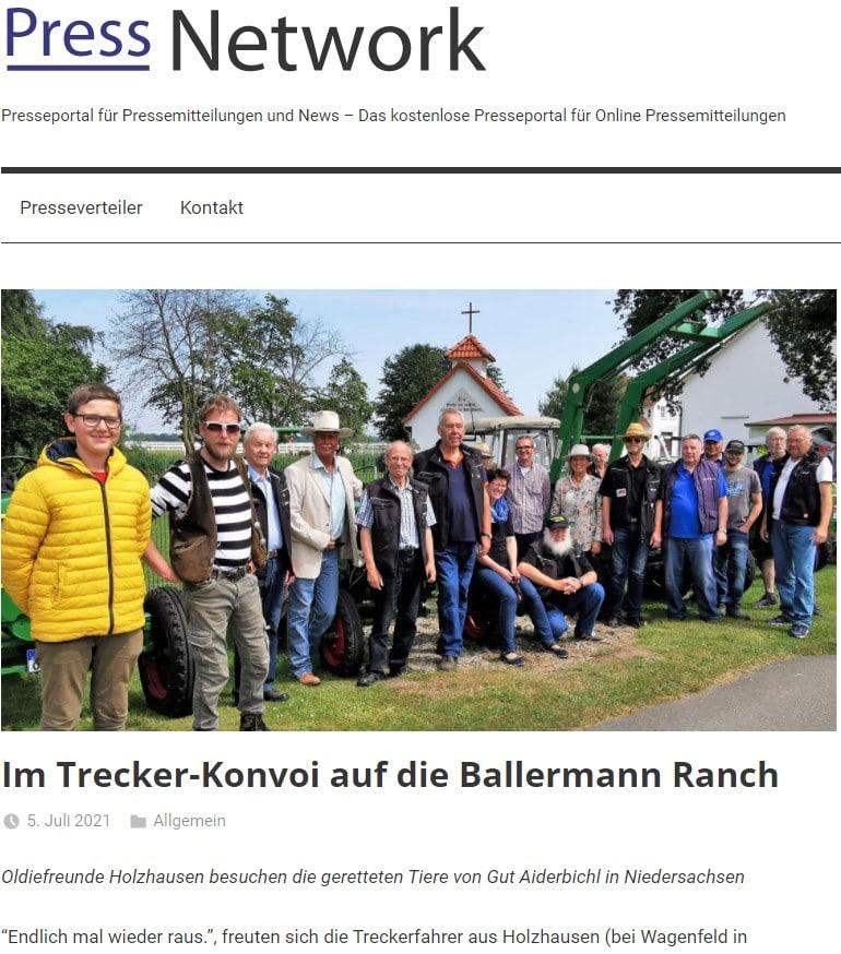 Pressespiegel Gut Aiderbichl Press Network