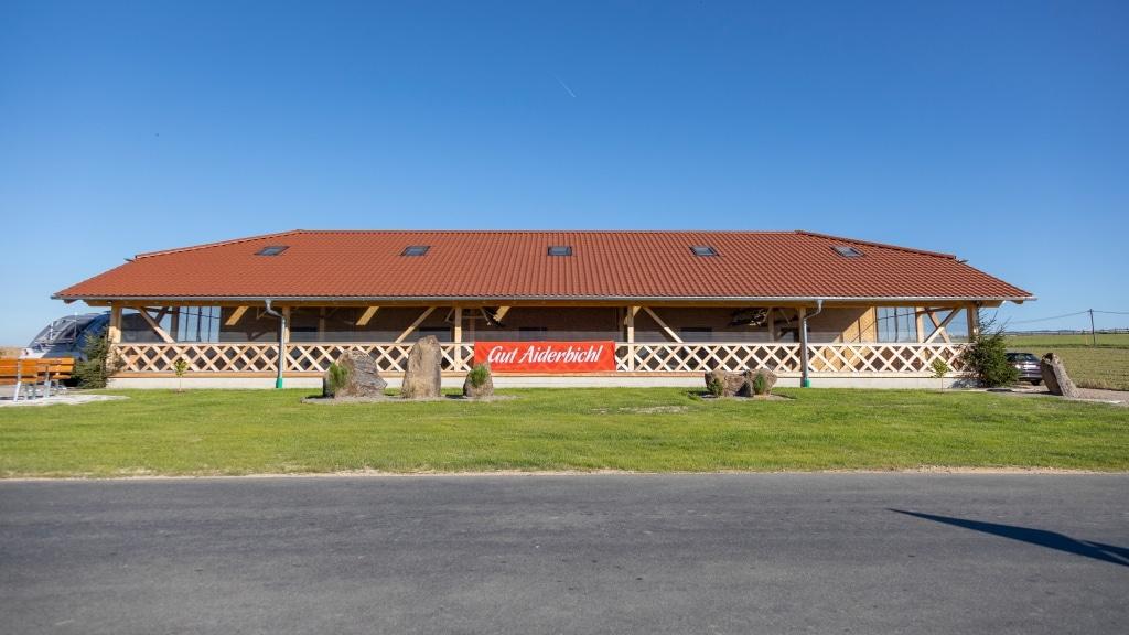 Das neue Taubenhaus auf Gut Aiderbichl Eslarn